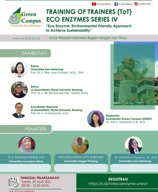 Training of Trainers (TOT) Eco Enzyme Series IV